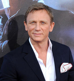 "Daniel Craig at the California premiere of ""Cowboys & Aliens"" during the Comic-Con 2011."