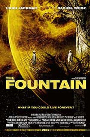 """Poster art for """"The Fountain."""""""