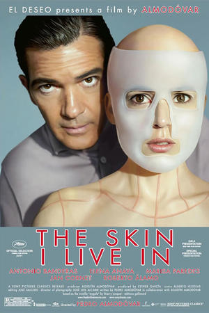 "Poster art for ""The Skin I Live In."""