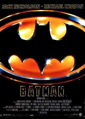 "Poster art for ""Batman."""