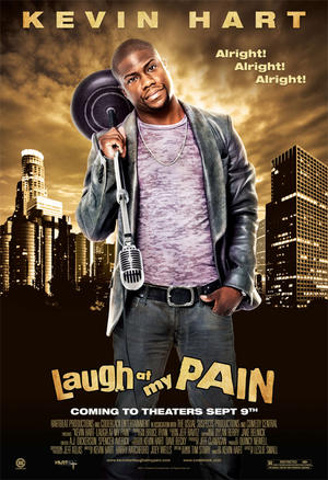 "Poster art for ""Kevin Hart: Laugh At My Pain."""