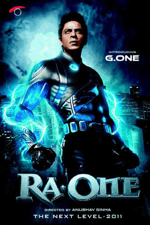 "Poster art for ""RA. One."""