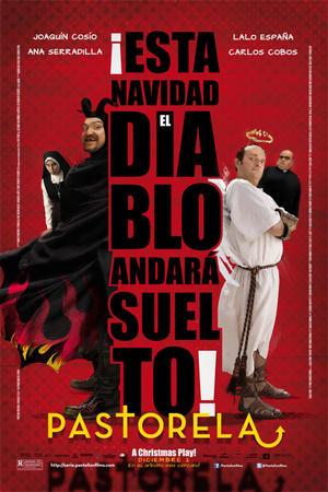 """Poster art for """"Pastorela."""""""