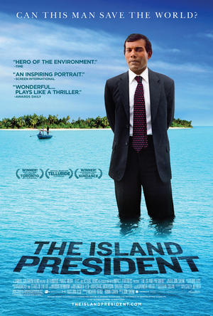 """Poster art for """"The Island President.''"""