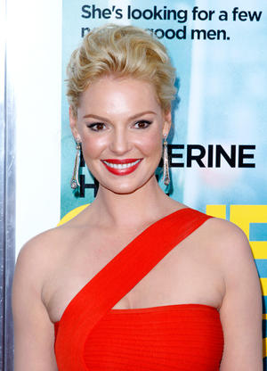"Katherine Heigl at the New York premiere of ""One for the Money."""