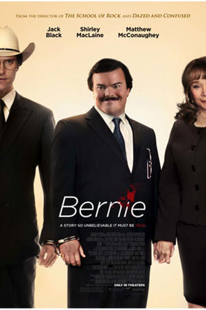 "Poster art for ""Bernie."""
