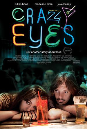"Poster art for ""Crazy Eyes."""