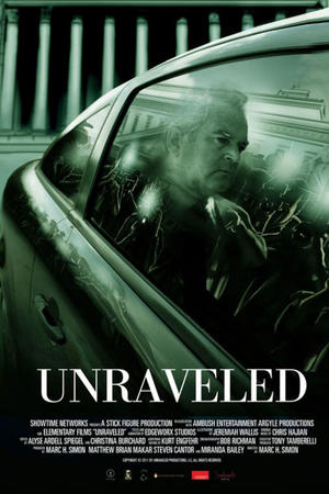 "Poster art for ""Unraveled."""