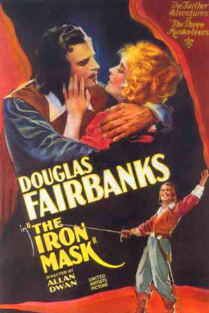 """Poster art for """"The Iron Mask."""""""