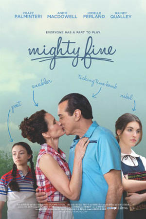 "Poster art for ""Mighty Fine."""