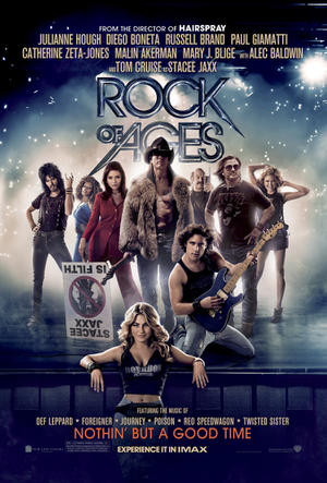 """Poster art for """"Rock of AGes: The IMAX Experience.""""Rock of Ages: The IMAX Experience"""