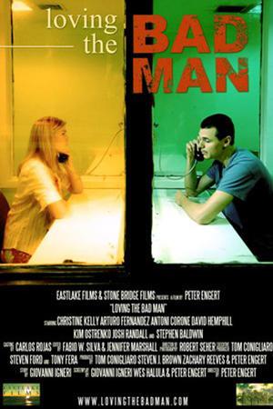"""Poster art for """"Loving the Bad Man."""""""