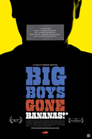 "Poster art for ""Big Boys Gone Bananas*""."
