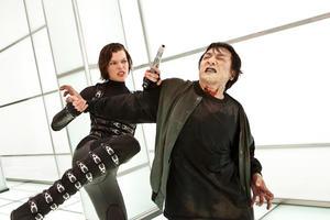 "Milla Jovovich in ""Resident Evil: Retribution."""