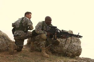 """Sean Bean and Ving Rhames in """"Soldiers of Fortune."""""""
