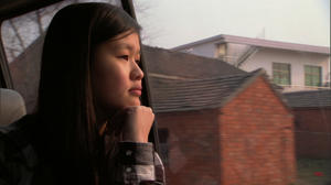 "Haley Butler in ""Somewhere Between."""