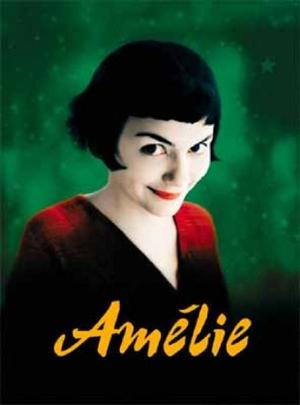"Poster art for ""Amelie."""