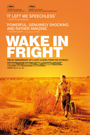 "Poster art for ""Wake in Fright."""