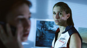 "Sarah Megan Thomas as Abigail Brooks in ""Backwards."""