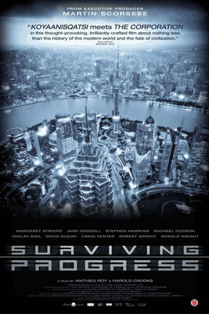 "Poster art for ""Surviving Progress."""