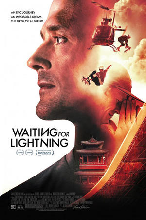 "Poster art for ""Waiting for Lightning."""