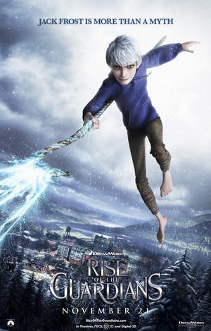 "Poster art for ""Rise of the Guardians."""
