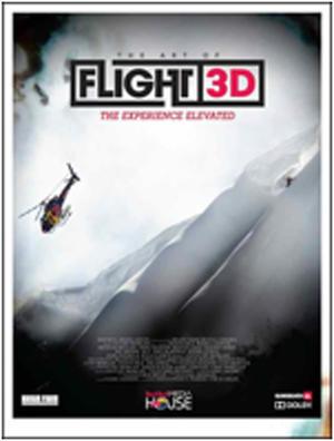 """Poster art for """"The Art of Flight 3D."""""""