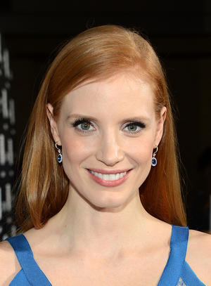 "Jessica Chastain at the California premiere of ""Zero Dark Thirty."""