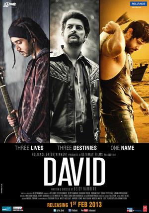 "Poster art for ""David."""