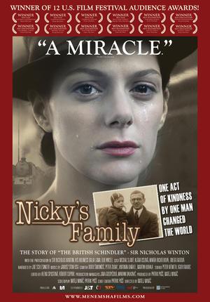 """Poster art for """"Nicky's Family."""""""