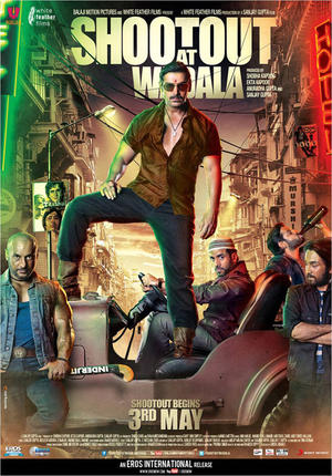 "Poster art for ""Shootout at Wadala."""
