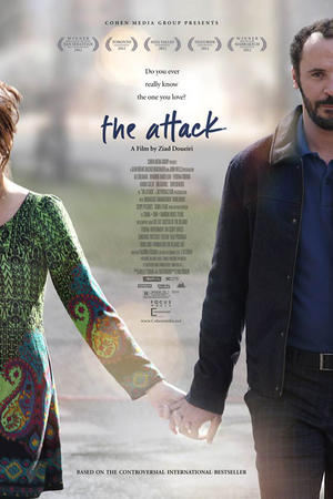"Poster art for ""The Attack."""
