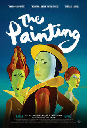 "Poster art for ""The Painting."""