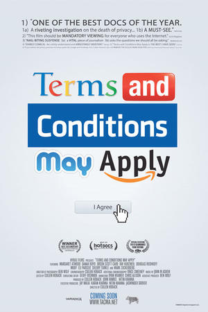 "Poster art for ""Terms and Conditions May Apply."""