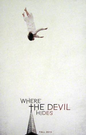 "Poster art for ""Where the Devil Hides."""