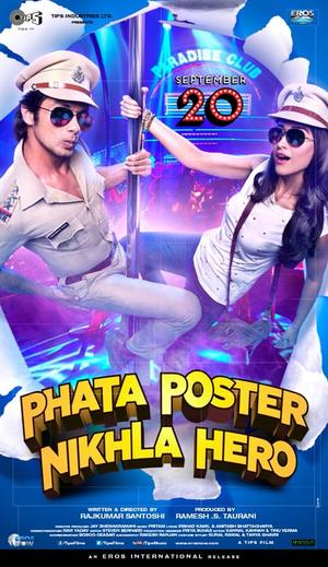 "Poster art for ""Phata Poster Nikhla Hero."""
