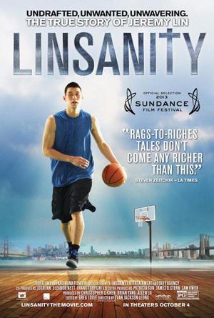 "Poster art for ""Linsanity."""