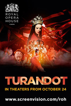 "Poster art for ""Turandot."""