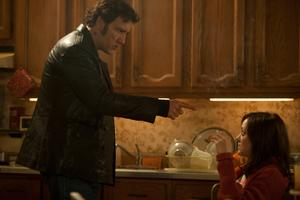 "Clive Owen and Marion Cotillard in ""Blood Ties."""