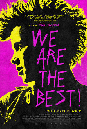 """Poster art for """"We Are the Best!"""""""
