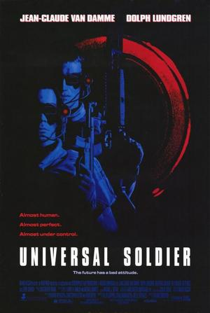 """Poster art for """"Universal Soldier."""""""