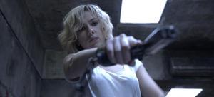 "Scarlett Johansson in ""Lucy."""