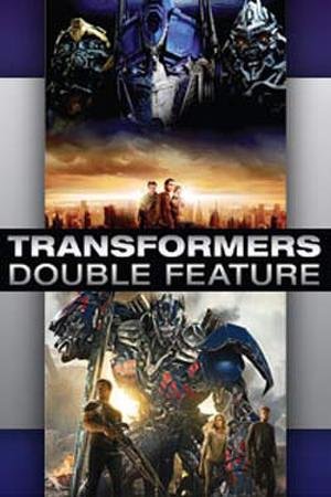 """Poster art for """"Transformers Double Feature."""""""