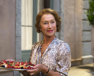 "Helen Mirren as Madame Mallory in ""The Hundred-Foot Journey."""