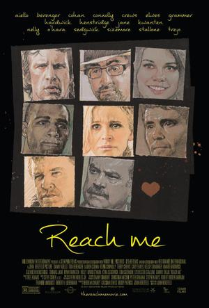 "Poster art for ""Reach Me."""