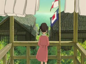 Kokuriko-Zaka Kara: Umi And Shun On The Balcony (Uk)