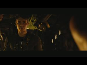 Riddick: On The Set With Keri Hilson (Featurette)