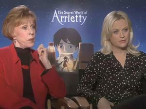 Exclusive: The Secret World of Arrietty - Cast Interviews