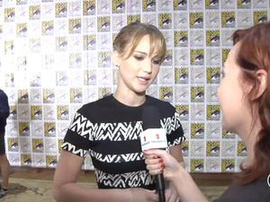 SDCC Exclusive: Catching Fire - Jennifer Lawrence