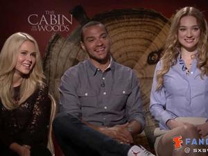 Exclusive: The Cabin in the Woods - SXSW 2012 Anna Hutchison, Jesse Williams & Kristen Connolly Interview